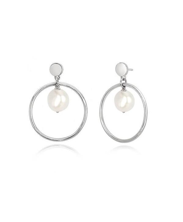 Orecchini Mabina argento e perle