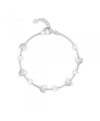 Bracciale Mabina cuori e perle 533312