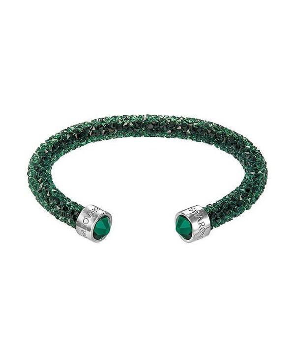 Bracciale Swarovski Crystaldust Verde scuro