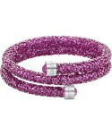 Bracciale rigido swarovski Crystaldust Double Rosa 5273643