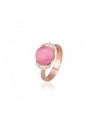ANELLO MABINA occhio di gatto rosa metà prezzo 523047/11 523047/13 523047/17