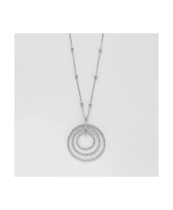 Collana Lunga Kiara argento,oro o oro rosa