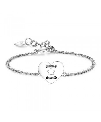 Bracciale S'Agapõ Be My Always Cuore/Stella SBM42