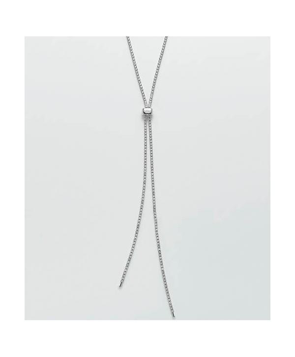 Collana Lunga Kiara argento, oro o oro rosa