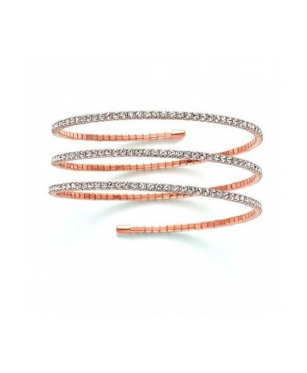 Bracciale Kiara snake oro rosa,argento o oro