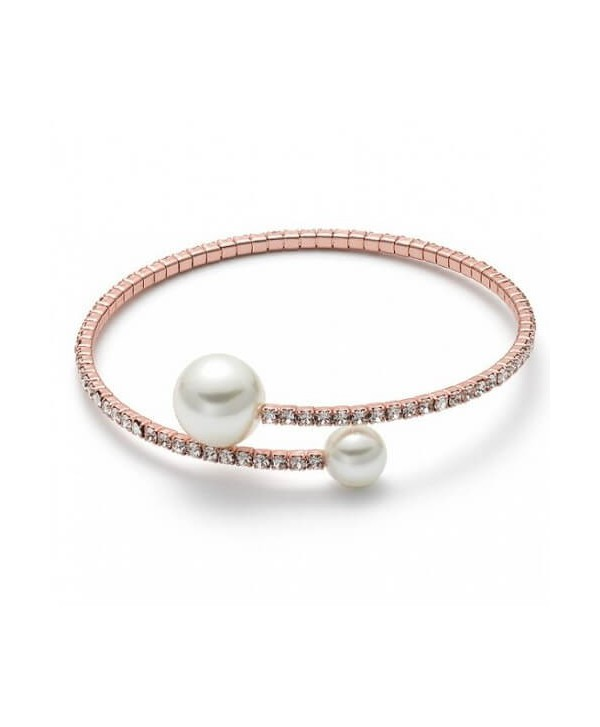 Bracciale Kiara Basik Pearl oro rosa o argento