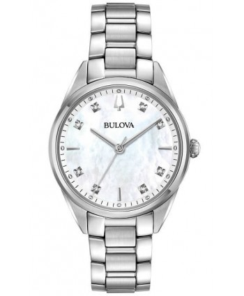 Orologio Bulova Donna Sutton Diamonds bianco 96P199