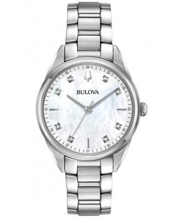 Orologio Bulova Donna Sutton Diamonds bianco 96P199