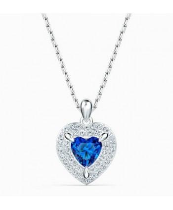 Collana Swarovski One cuore blu 5511541