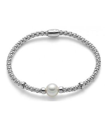 Bracciale elastico Miluna Miss Italia 2019 perla bianca PBR2992-M