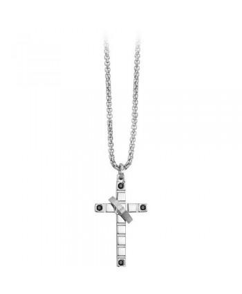 Collana 2Jewels Faith Croce in acciaio 251432