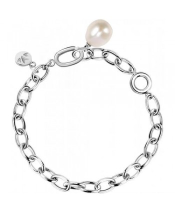 Bracciale Morellato Oriente Perla pendente argento SARI13
