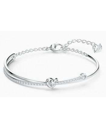 Bracciale rigido Swarovski Lifelong Heart argento 5517944