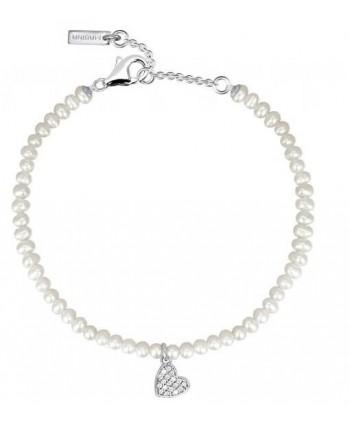 Bracciale Mabina perle (vari simboli)