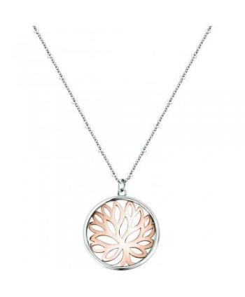 Collana Morellato Fiore di loto bicolore SATD05