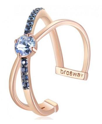 Anello Brosway Affinity solitario oro rosa BFF128