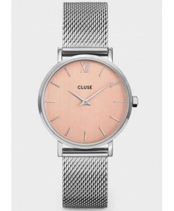 Orologio Cluse Minuit Mesh rosa CW0101203029