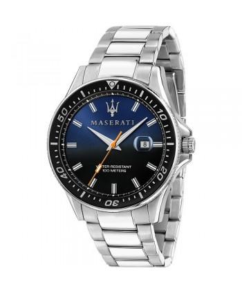 Orologio Maserati Sfida blu e nero R8853140001