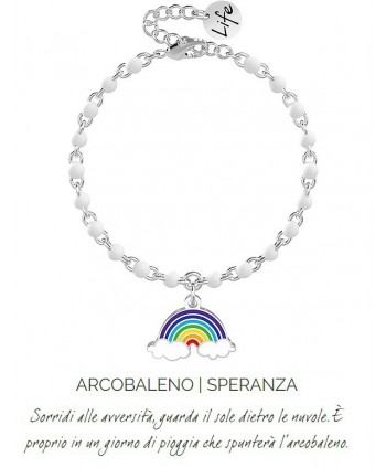 Bracciale Kidult Arcobaleno/speranza