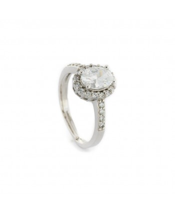 Anello Faga Collection zircone bianco