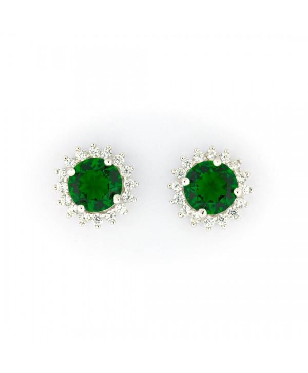 Orecchini Faga Collection punto luce in 5 colori