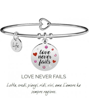 Bracciale Kidult LOVE NEVER...