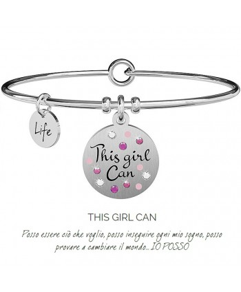 Bracciale Kidult THIS GIRL CAN