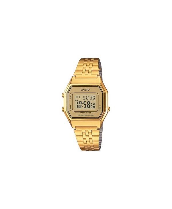 Orologio Unisex Casio Collection Retro oro