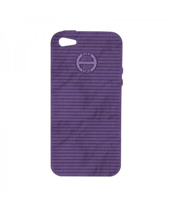 HIP HOP COVER MELANGE VIOLA I PHONE 5 HCV0060