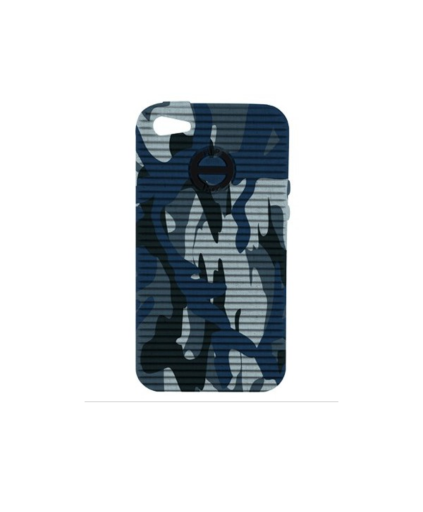 HIP HOP COVER CAMOUFLAGE BLU I PHONE 4 4S HCV0071