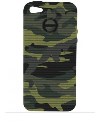 HIP HOP COVER CAMOUFLAGE VERDE I PHONE 5 HCV0072