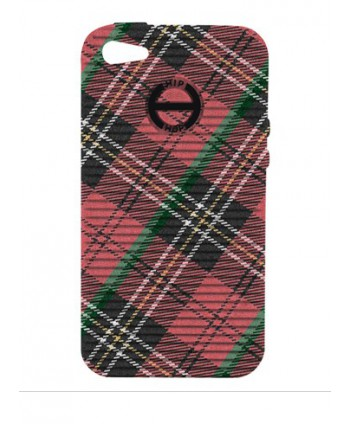 HIP HOP COVER TARTAN ROSSO I PHONE 4 4S HCV0077