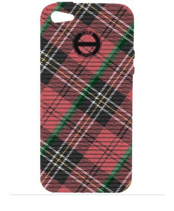 HIP HOP COVER TARTAN ROSSO I PHONE 5 HCV0078