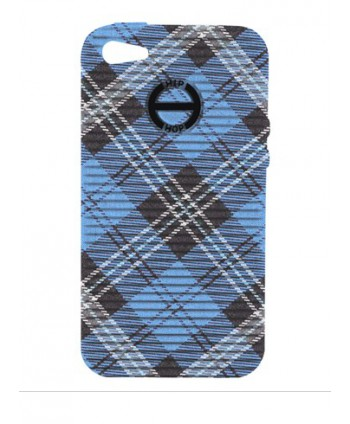 HIP HOP COVER TARTAN BLU I PHONE 4 4S HCV0079