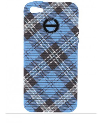 HIP HOP COVER TARTAN BLU I PHONE 5 HCV0080